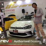 TOKYO AUTO SALON 2017(VW GOLF7 GTi ClubSport X REVO TECHNIK)