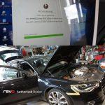 REVO TECHNIK プーリーキット & Stage1+(プラス)ソフトウエア X AUDI A6 V6-3.0L スーパーチャージャー